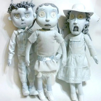 ghost children dolls
