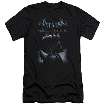 Batman Arkham Origins - Perched Cat Premuim Canvas Adult Slim Fit 30/1