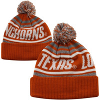Top of the World Texas Longhorns Youth Striker Knit Hat - Burnt Orange