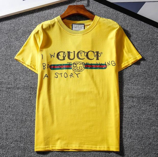 Gucci Hot letters print T-shirt top For Black Firday H