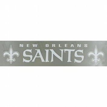 New Orleans Saints - Name & Logo Cut Out Bumper Sticker