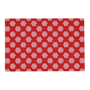 Peppermint Candy Christmas Holiday Reversible Placemat