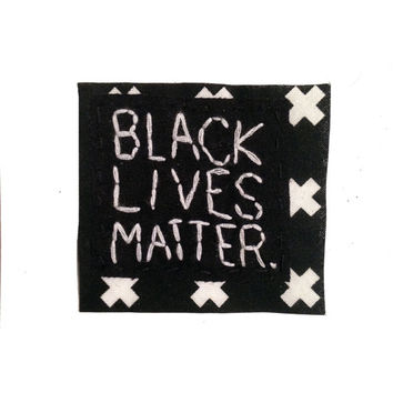 BLACK LIVES MATTER patch || Political Patch Political Shirt Rad Patch Iron On Patches Hip Bag riot grrrl patch Iron On Patch | Jakes Patches