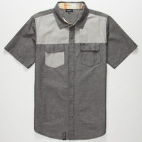 Lrg Young Blocka Mens Shirt Black  In Sizes
