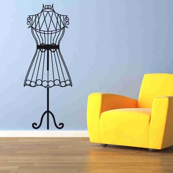 Mannequin Wall Decal