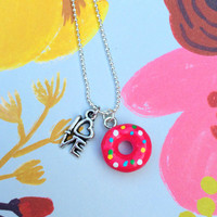 Love and Donuts Necklace