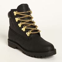 CHAIN LACE BOOTS