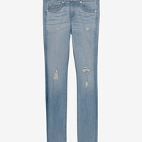 rag & bone/JEAN EXCLUSIVE Ripped Skinny-Bottoms-Clothing-Categories- IntermixOnline.com