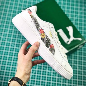 Puma Basket Platform Satin 2 Fashion Sneakers - Best Online Sale