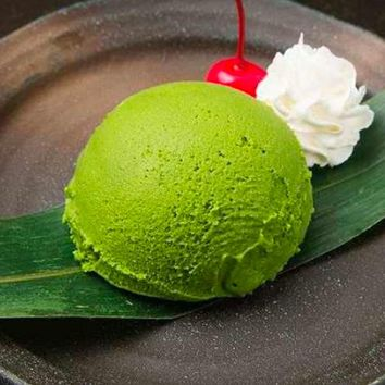 Ice Cream Mix in Green Tea