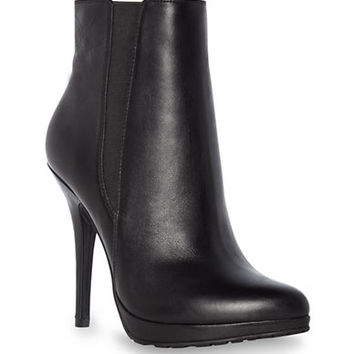 Dune London Nino Leather Heeled Boots
