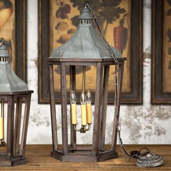 Lantern Pendant Light, Large