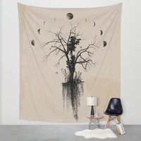 Midnight Wall Tapestry by DuckyB (Brandi)