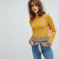 Free People New Age Crew Neck Sweater at asos.com
