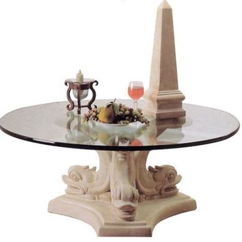 Dolphin Triple Cocktail Table Base 17H - 4832