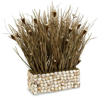 Sea Grass Plant - Flower Petal Accents