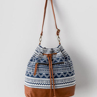 Nomad Tribal Bucket Bag