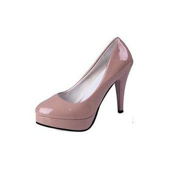 Pumps Women 's new sexy shallow mouth with fine pointed high heels waterproof shoes wedding shoes banquet shoe