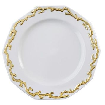 MOTTAHEDEH Barriera Corallina Gold Dinnerware Collection