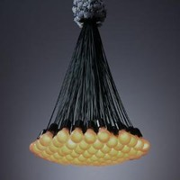 Droog Design: Rody Graumans 85 Lamps Chandelier Contemporary Lighting