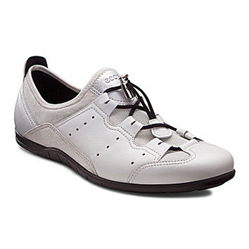 ECCO Bluma Toggle Sneakers - White/Shadow White