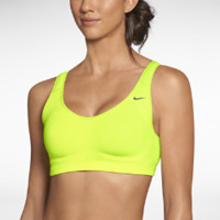 Nike Scoop Back Women's Sports Bra - Volt