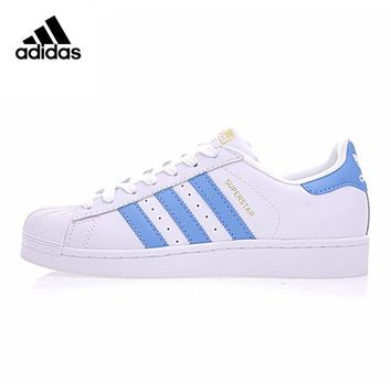 Original New Arrival Official Adidas SUPERSTAR Gold Standard Clover Men & Women Skateboarding Shoes Sport Sneakers BY3716