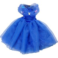 New Style Child's 3 to 10 baby girls dress Cosplay Costume Cinderella Wedding Dresses Baby Girls Princess Party dress Vestidos