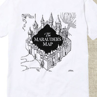 The Marauders Map tshirt for mens and womens