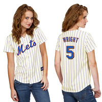New York Mets David Wright Women's Player Replica Jersey by Majestic Athletic - MLB.com Shop