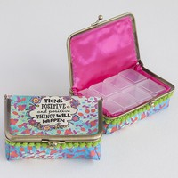 Think  Positive  Day  Of  The  Week  Pill  Box    From  Natural  Life