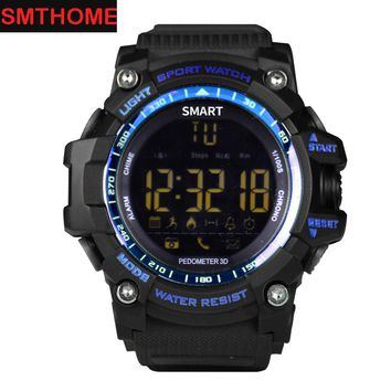 EX16 Sport Bluetooth Smart Watch 5ATM IP67 Waterproof Sport Watch Pedometer Stopwatch Alarm Clock Remote Camera 1 Year Standby