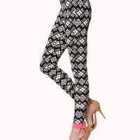 Bold Geo Leggings