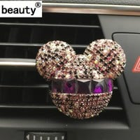 Hazy Beauty Car Ornaments Exquisite diamond Air conditioning air freshner