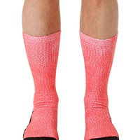 Pebble Red Sport Socks