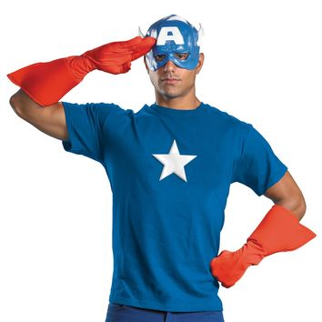 Captain America Kit Adult awesome hero costume accessories