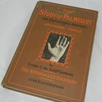 Reserved for chancepinup 1935 The Study of Palmistry For Professional Purposes Book Love the Book Make an Offer
