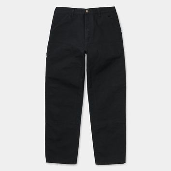 Carhartt WIP Double Knee Pant Black Aged Canvas