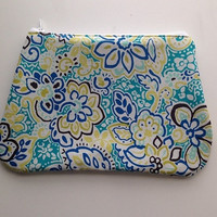 Bright Spring Time Floral Make Up Bag