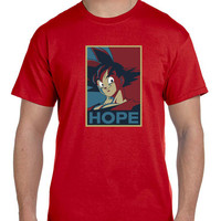 Dragon Ball Z Goku Hope Mens T Shirt