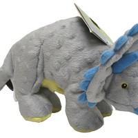 Quaker Pet Group Dinos Frills The Triceratops Dog Toy