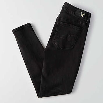 AEO Denim X Jegging, Black Wash
