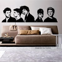 One Direction  2012 - Wall Art Sticker