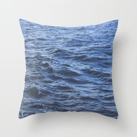 Wet Throw Pillow by Kelly Brown   Society6