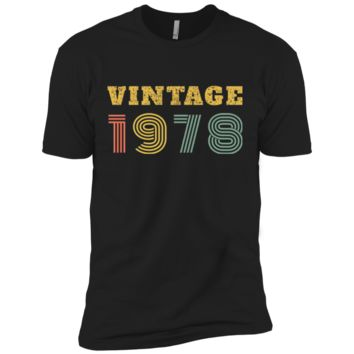 40th Birthday Gift Vintage 1978 Year T-Shirt