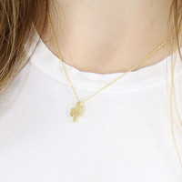 Cute Cacti Necklace