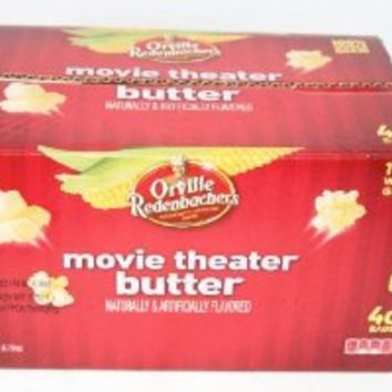 Orville Redenbacher's Movie Theater Butter Popcorn - 40 Bags 25% MORE BAGS