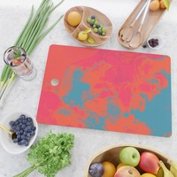 Pixelated Cutting Board by duckyb