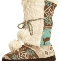 Muk Luks Women's Jewel Slipper Boot