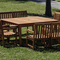 Milano Square Table Set Deluxe